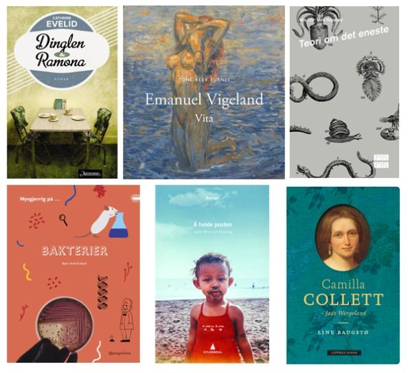 Disse titlene er nominert til Sørlandets litteraturpris 2014