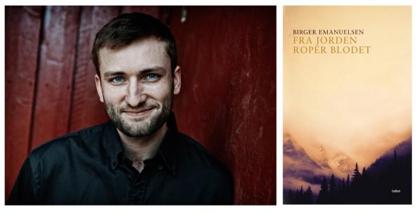 "Birger Emanuelsen er nominert til Sørlandets litteraturpris 2015 for boka ""Fra jorden roper blodet"" (Tiden forlag)"