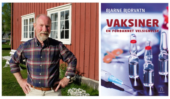 Bjarne Bjorvatn er nominert til Sørlandets litteraturpris 2016 for boka «Vaksiner : en forbannet velsignelse» (Portal forlag)
